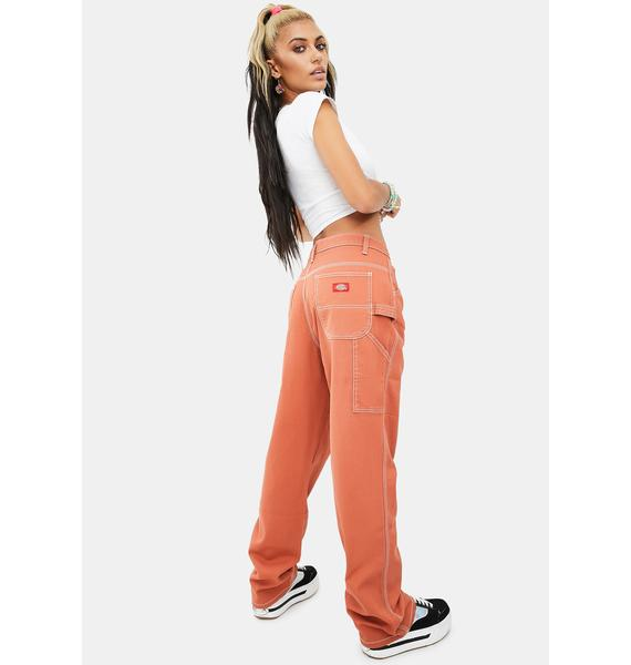 Dickies Girl Auburn Carpenter Pants