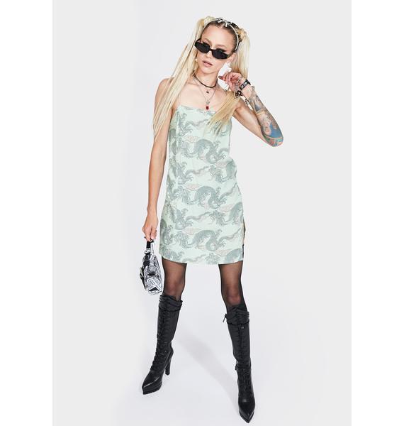Motel Dragon Datista Mini Dress