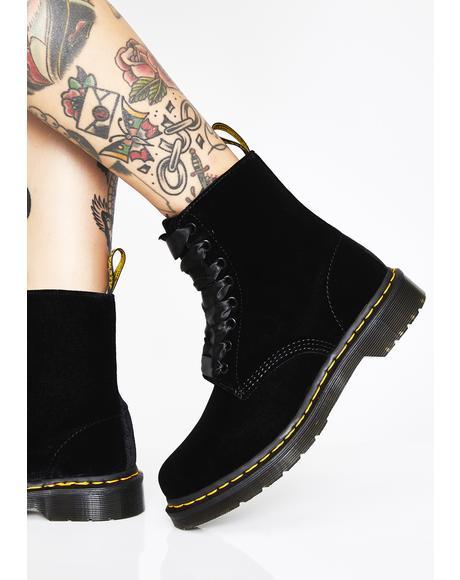 1460 Pascal Velvet Boots