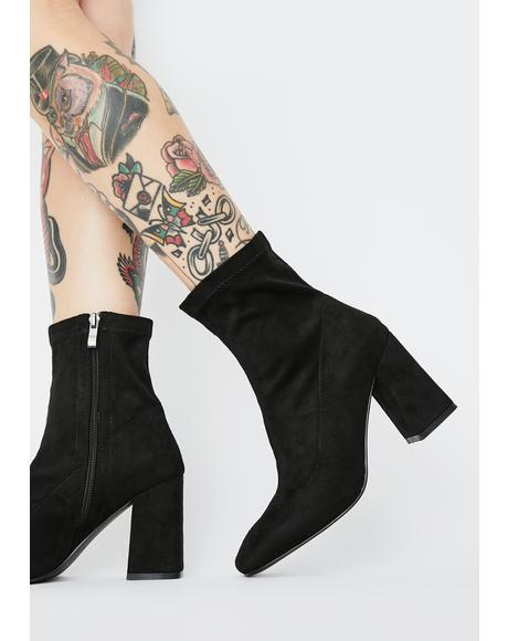 Addict Heeled Ankle Boots