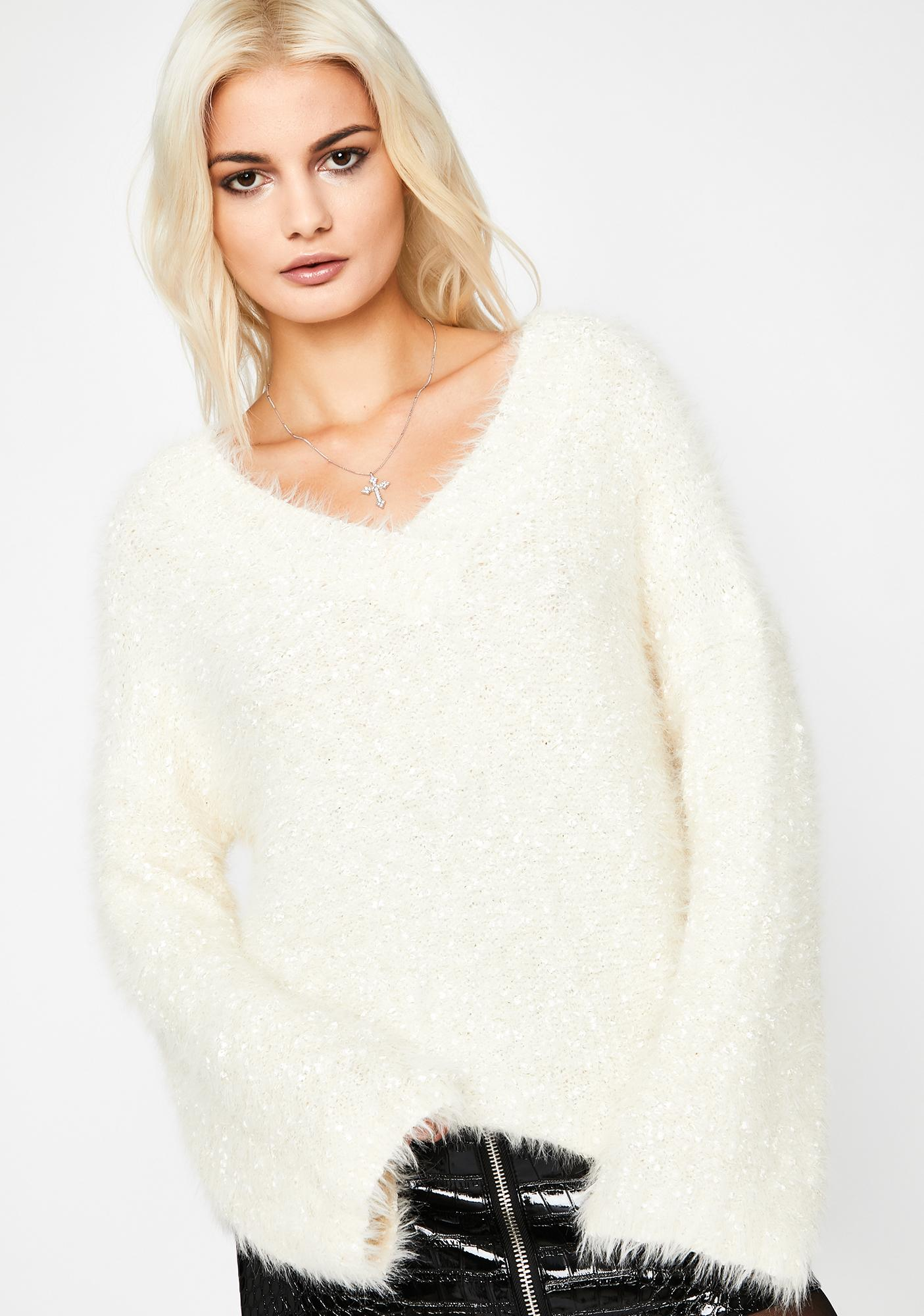 Warm Thoughts Fuzzy Sweater