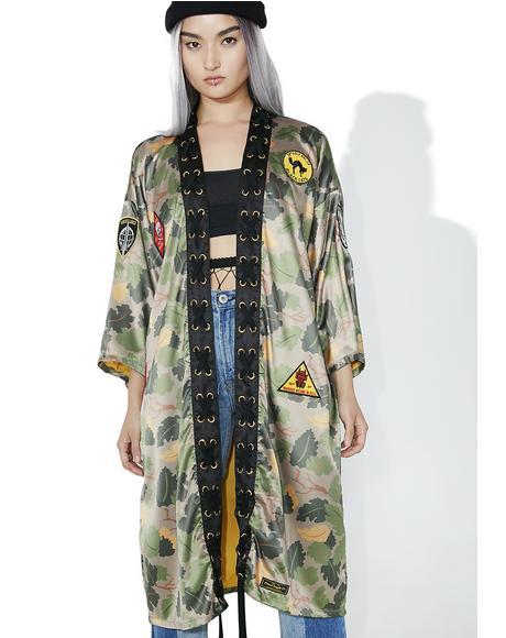 Pacific Tour Kimono
