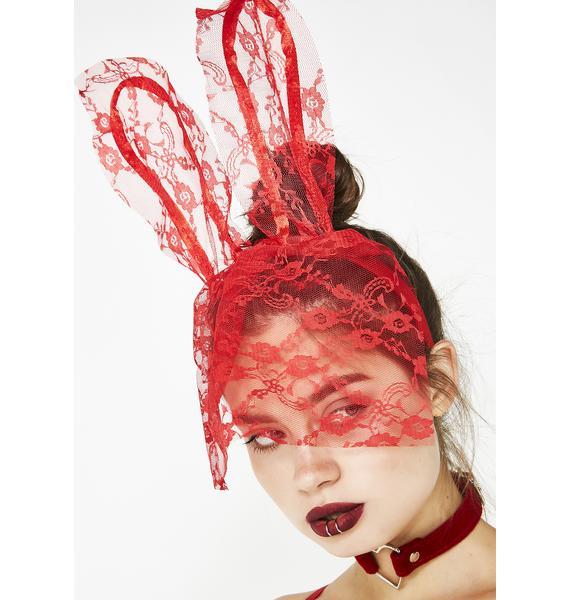 Bad Bunny Lace Headband