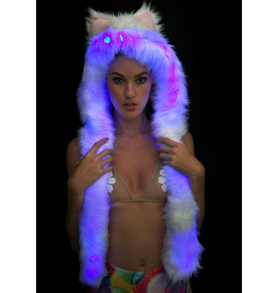 Electric Styles Polar Bear Light-Up Spirit Hood