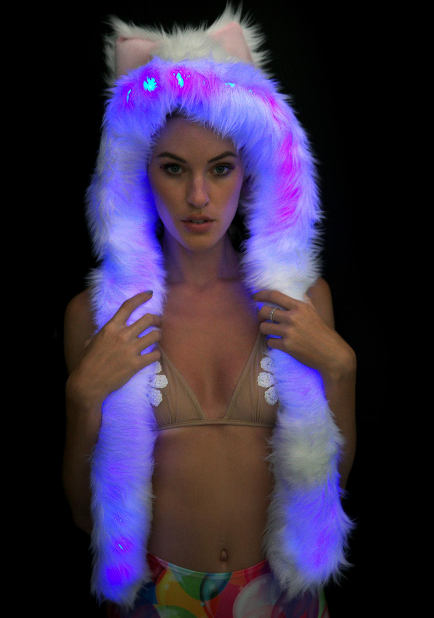 Electric Styles Polar Bear Light-Up Spirit Hood
