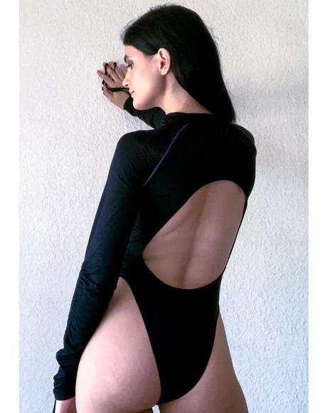 Rack It Up Long Sleeve Bodysuit