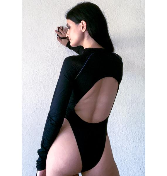 Poster Grl Rack It Up Long Sleeve Bodysuit