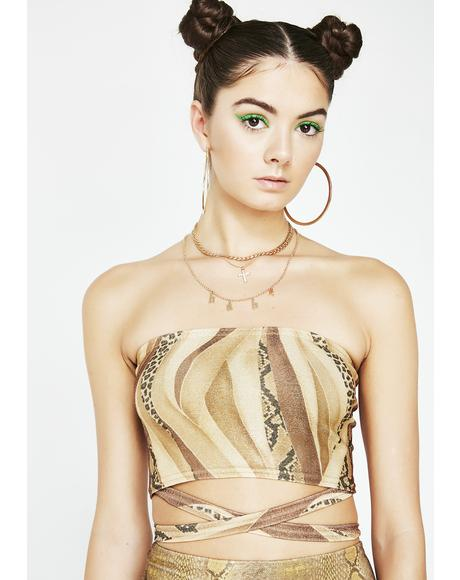Slither Bandage Tube Top