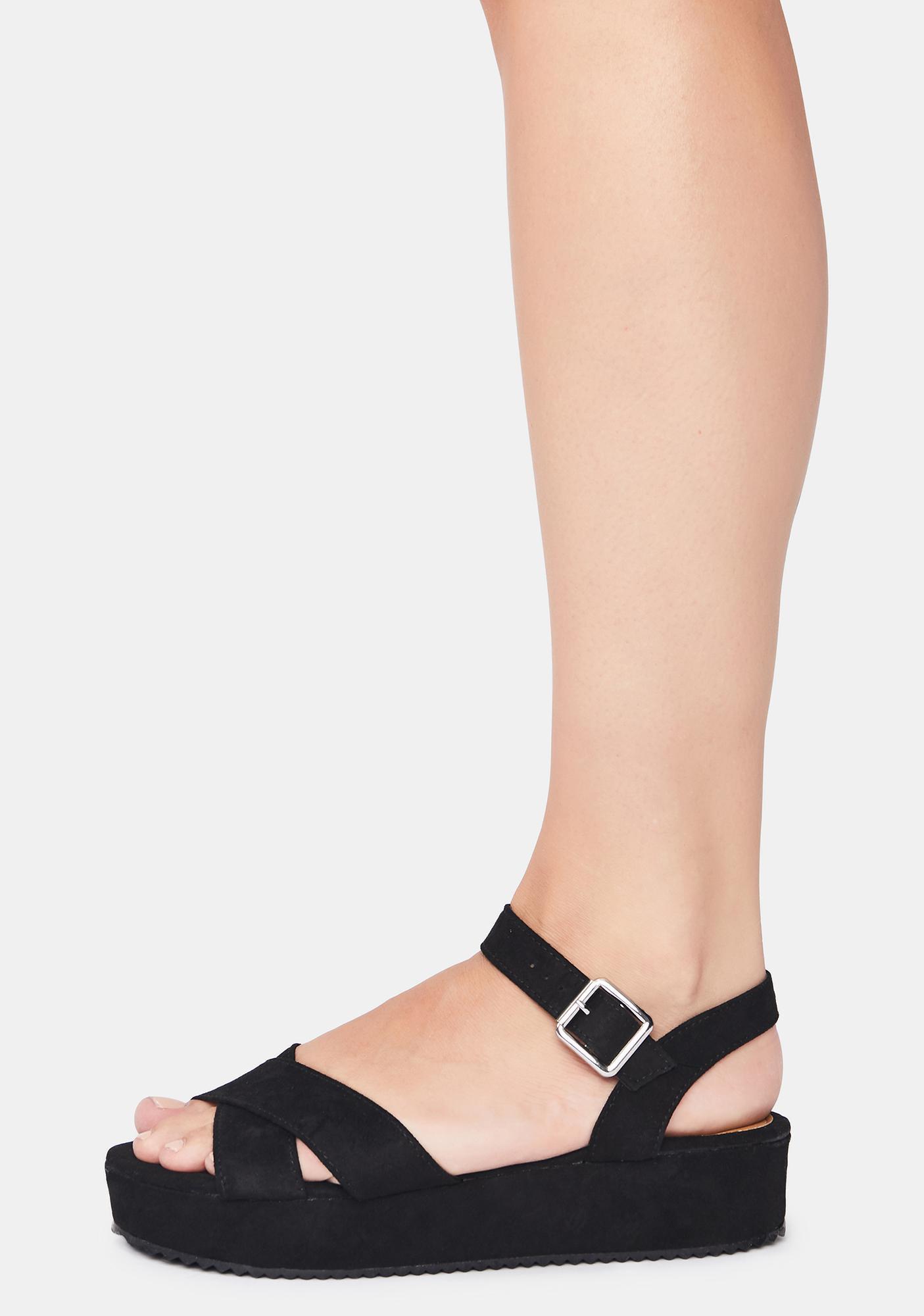 Meet Me L8R Platform Sandals