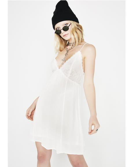 No Wrongdoing Lace Dress