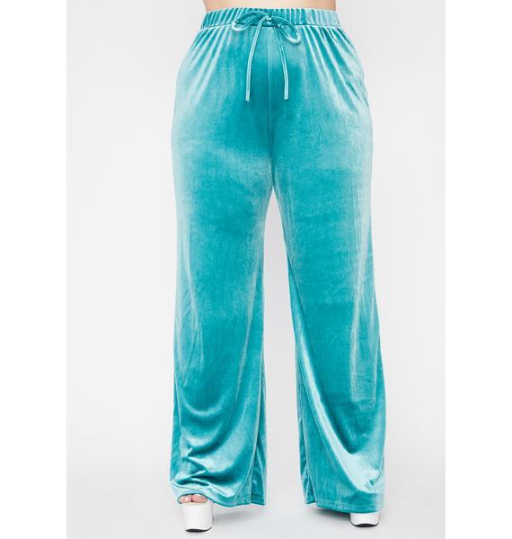 Forever Party Season Velvet Pants