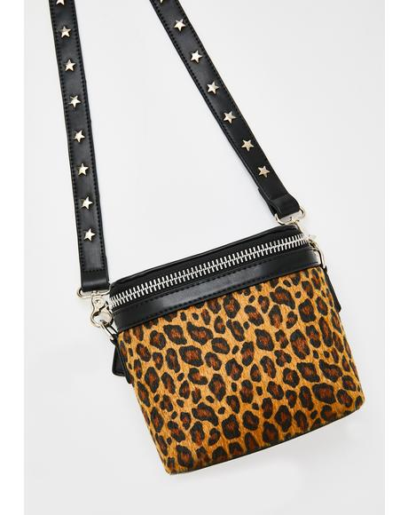 The Hendrix Mini Leopard Bag