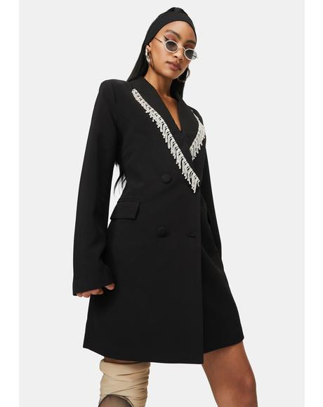 Zadie Long Sleeve Blazer Dress