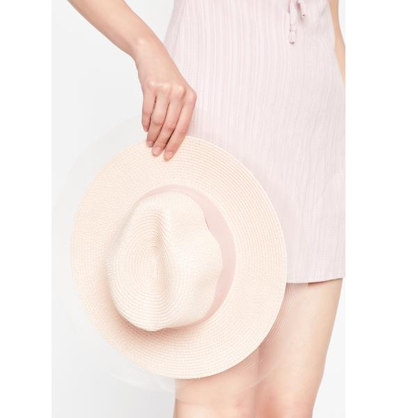 Cocktail Ready Wide Brim Hat