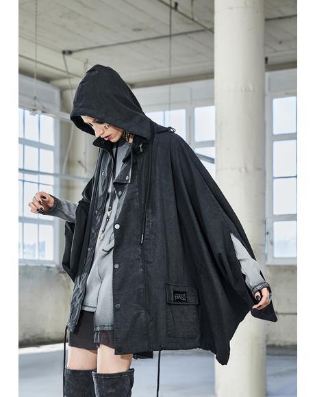 Bassline Worn Wash Anorak Jacket