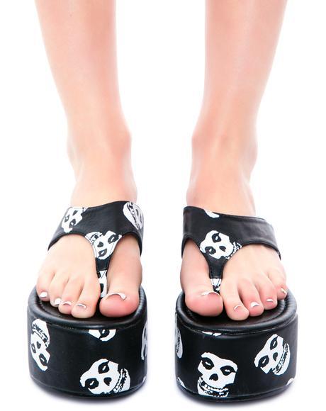 Misfits Platform Sandal