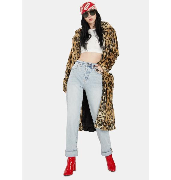 Pistola St Tropez Cassie High Rise Straight Jeans
