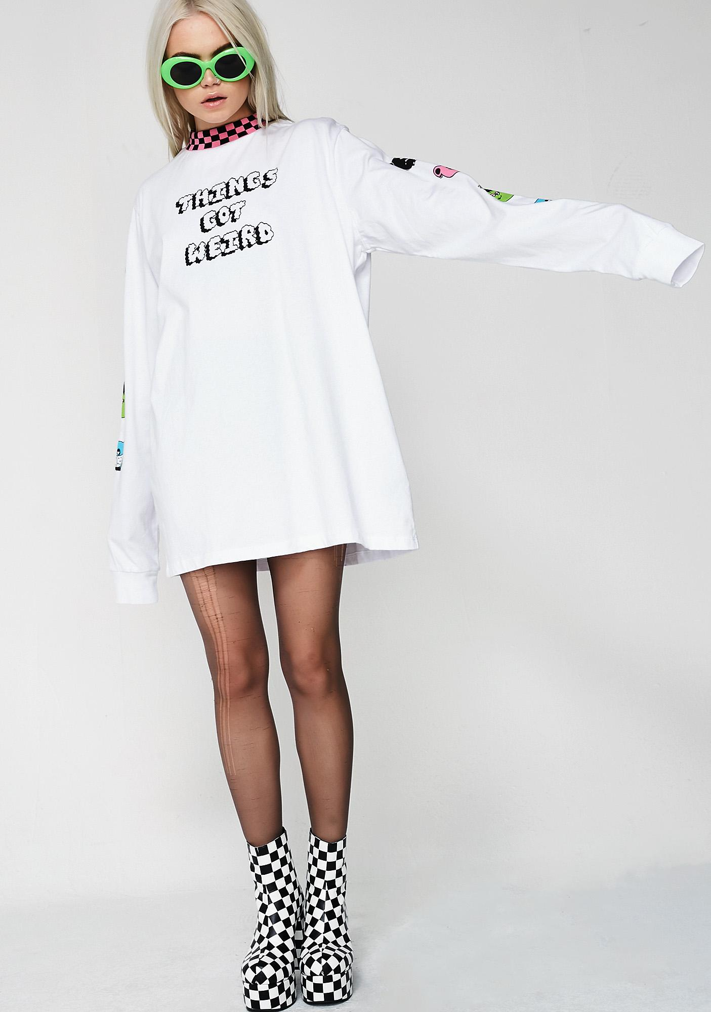 Lazy Oaf Things Got Weird Long Sleeve Tee