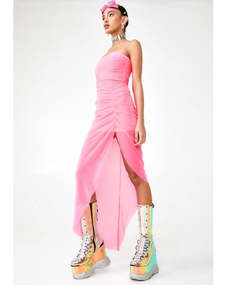 Solar Princess Maxi Dress
