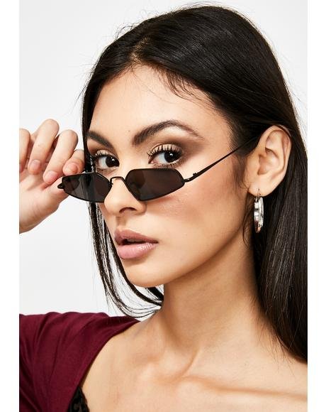 Sinna Camera Ready Abstract Sunglasses