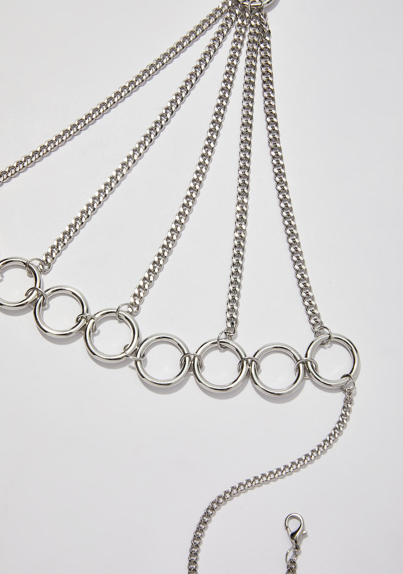 Strongest Link Chain Bralette