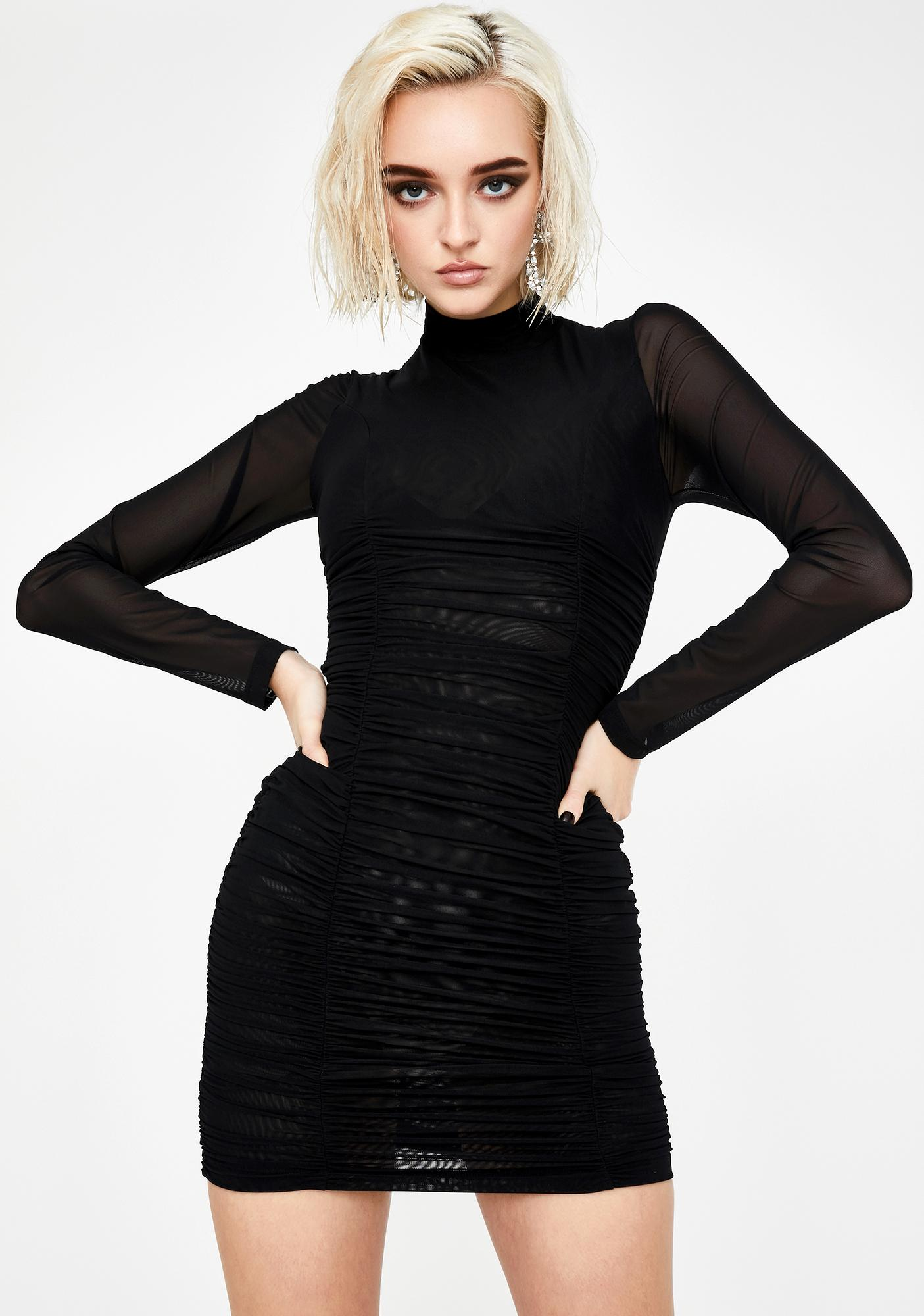 Kiki Riki Up All Nite Bodycon Dress
