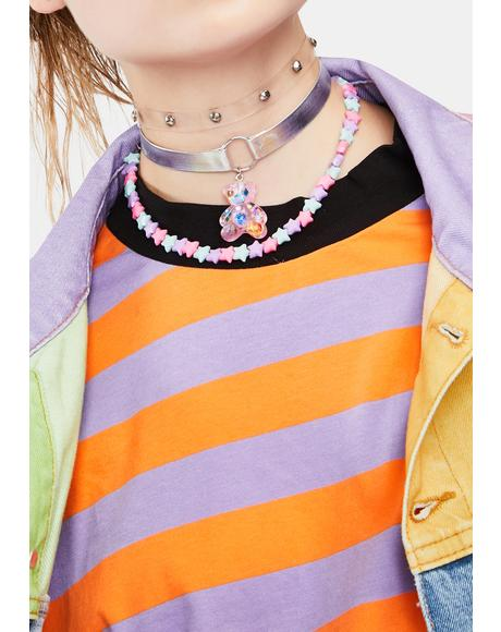 Grin And Bear It Choker Set