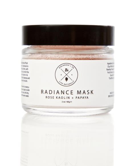 Rose Kaolin + Papaya Radiance Mask
