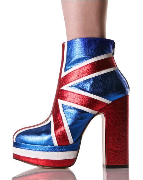Union Jack Boots