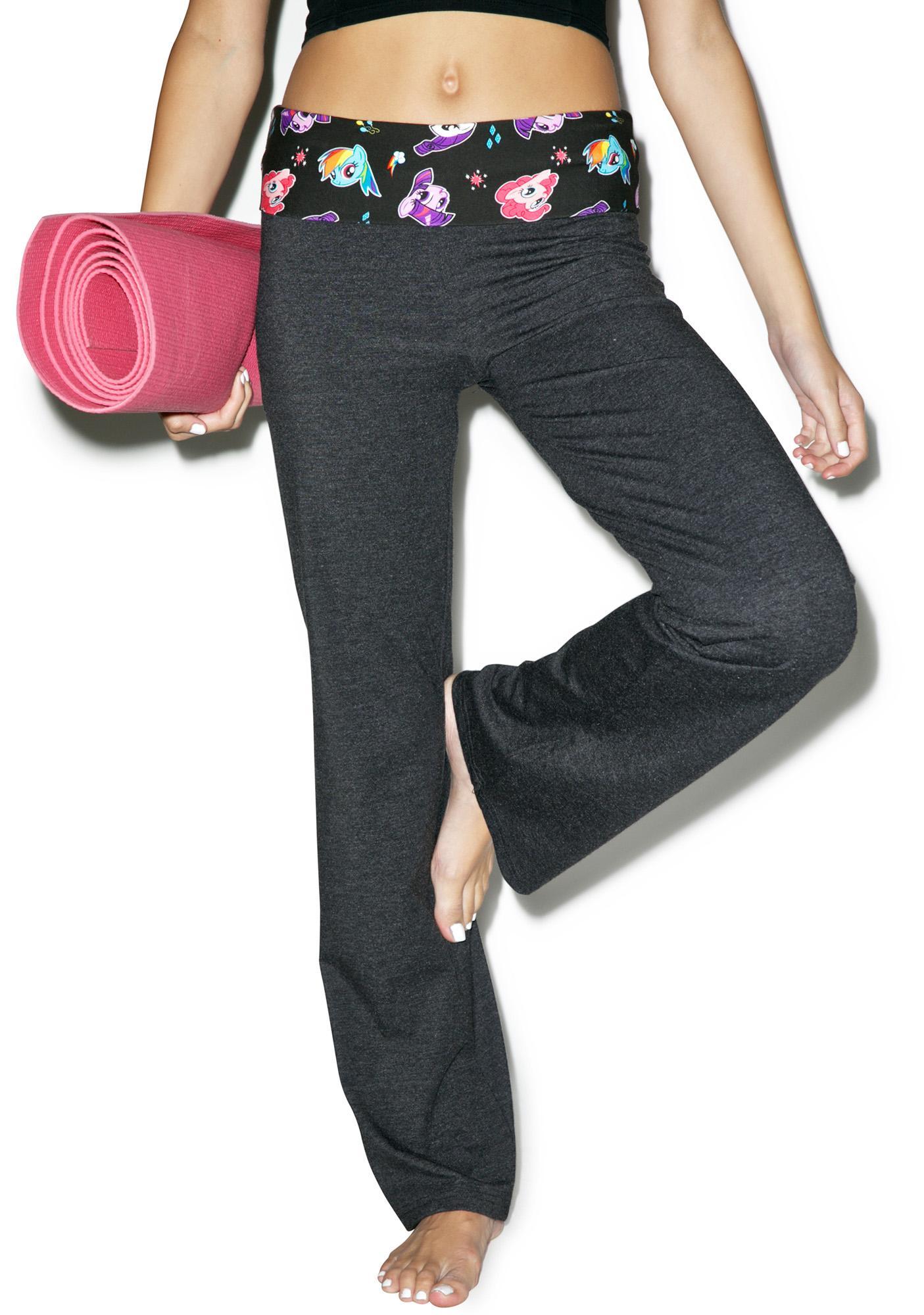 Undergirl Pretty Pony Yoga Pants