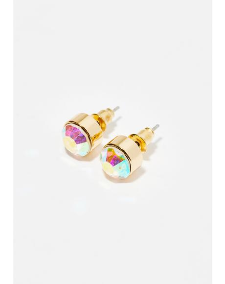 Stellar Sass Iridescent Earrings