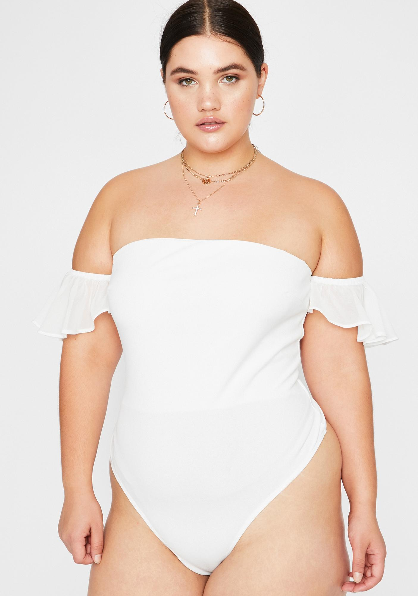 Purely Got Simple Luv Strapless Bodysuit