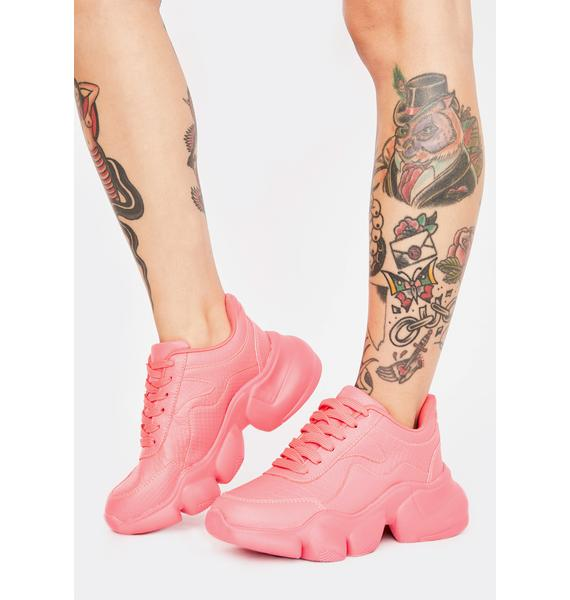 Candy Baby Racer Chunky Sneakers