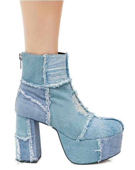 Rad Doll Denim Boots