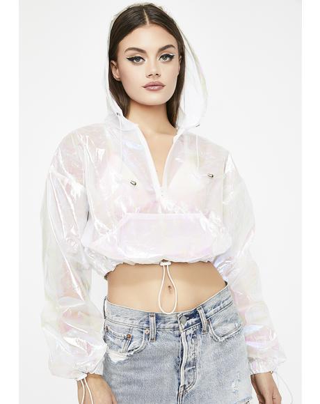 Electric Slide Iridescent Jacket