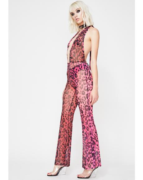 Boss Jungle Sheer Jumpsuit