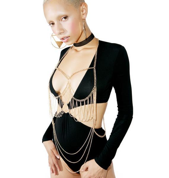 Esmeraude Body Chain