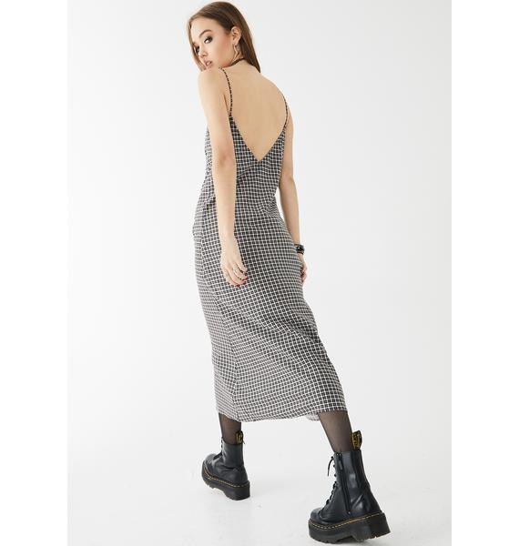 Motel Juvina Midi Dress