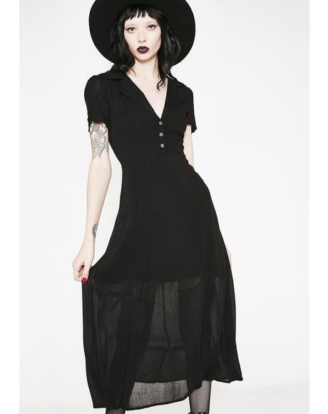 Ominous Wind Shirt Dress