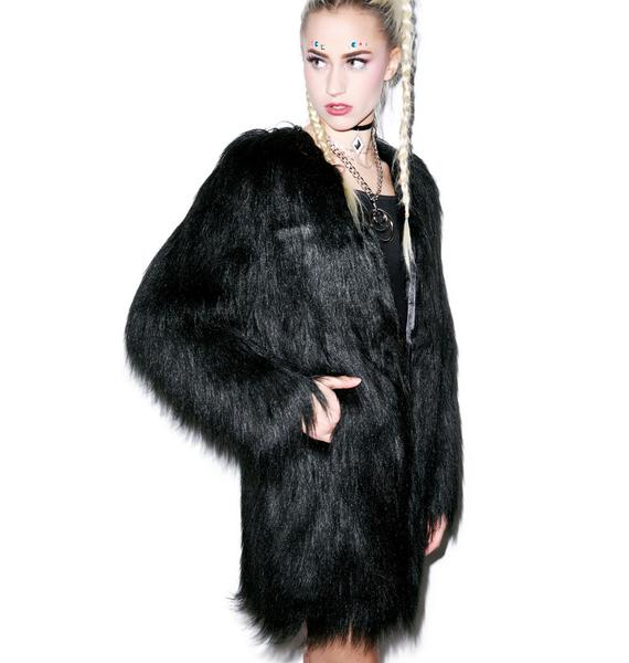 Unreal Fur Wanderlust Coat