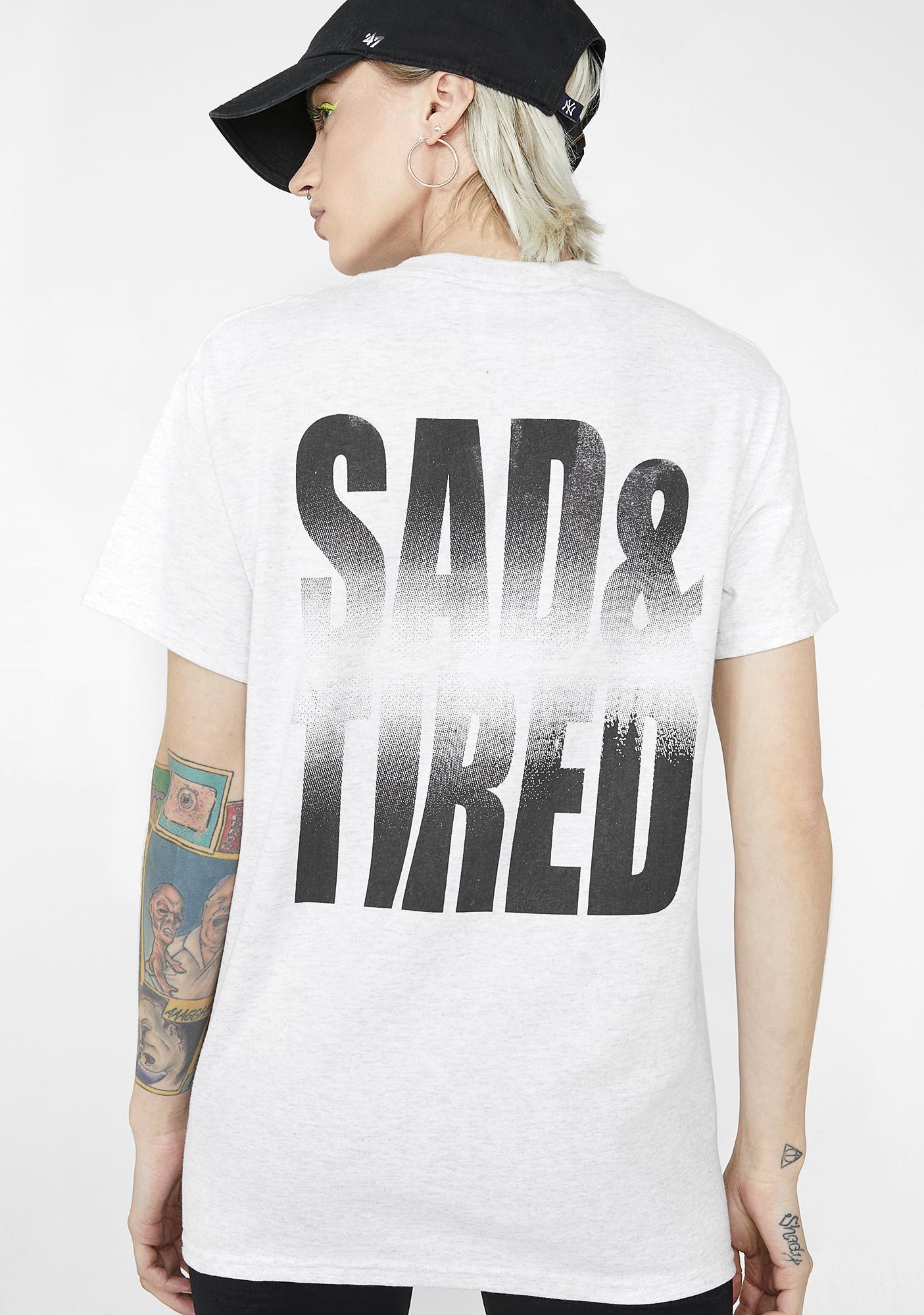Illustrated People Sad N' Tired Tee