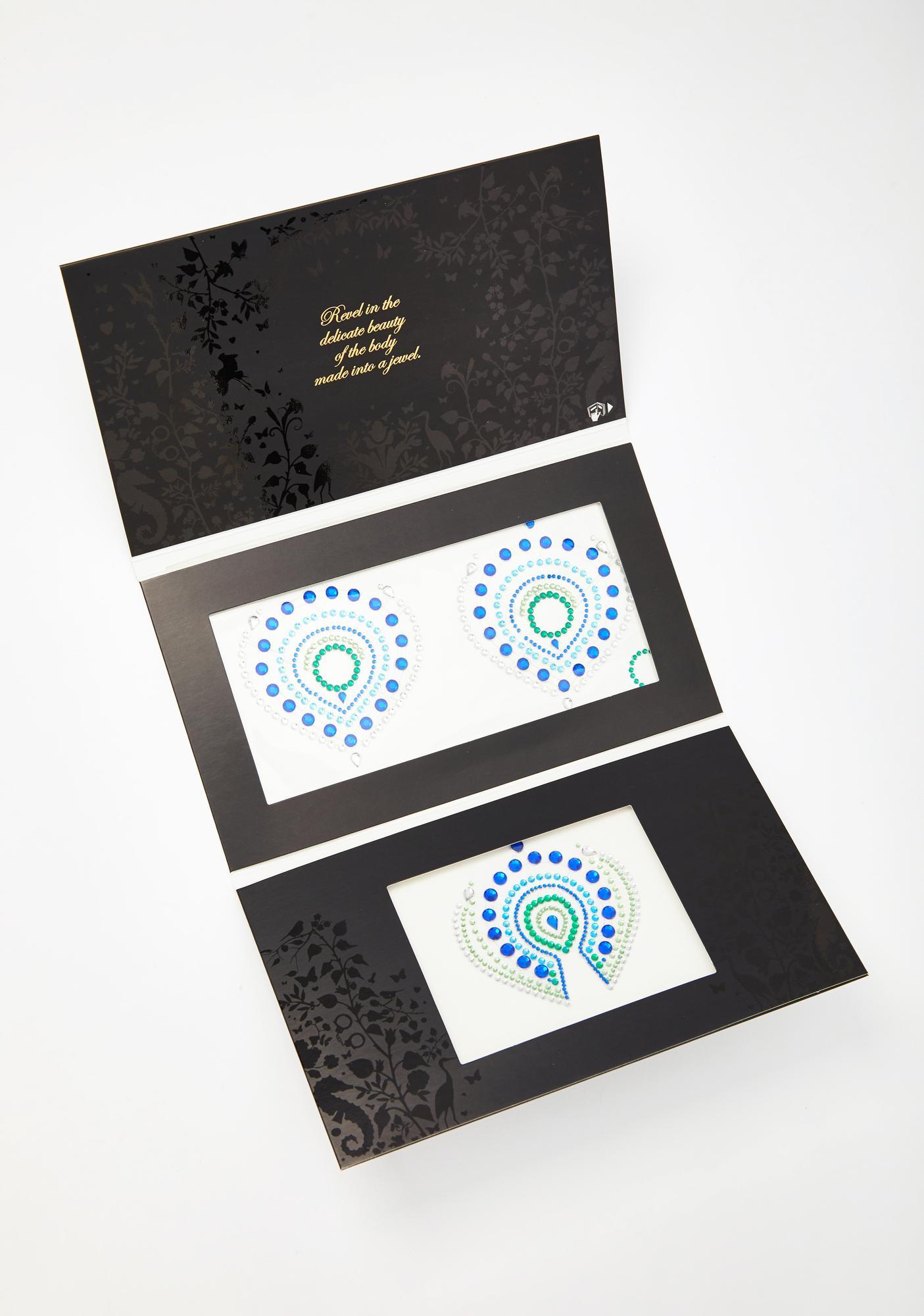 BIJOUX INDISCRETS Blue Flamboyant Skin Jewelry
