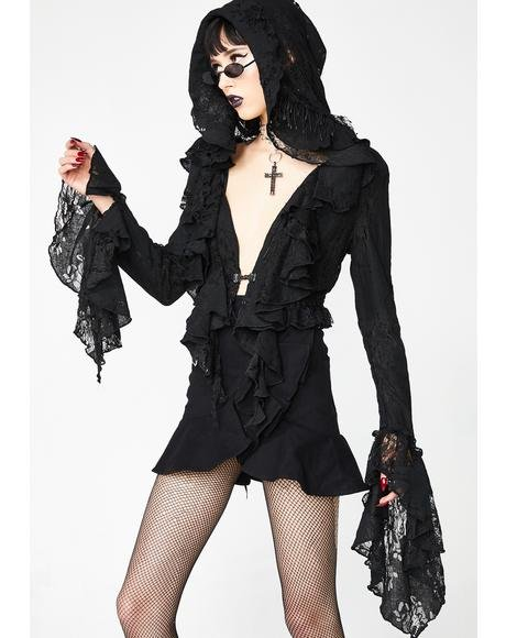 Gothic Decadent Short Coat