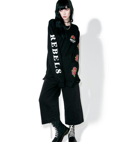 Rebel8 Centifolia Long Sleeve Tee
