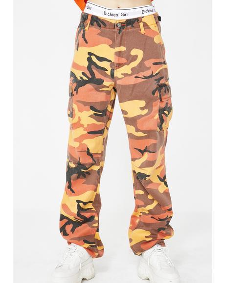 Camouflage Utility Pants