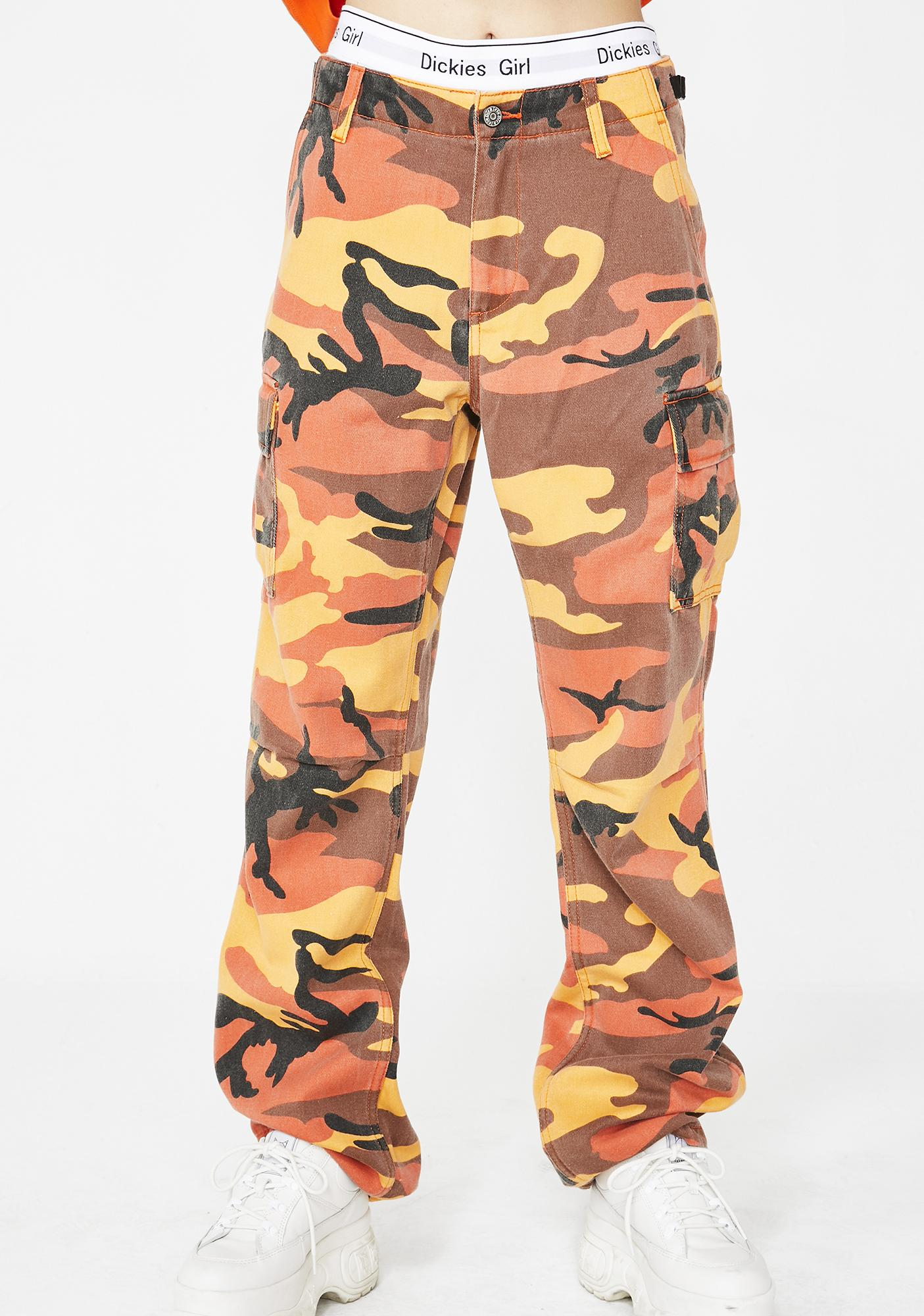Dickies Girl Camouflage Utility Pants