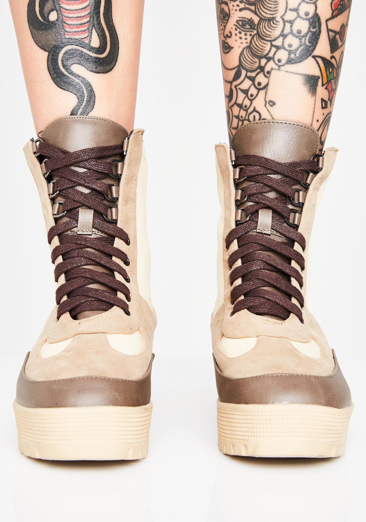 In Command Combat Boots