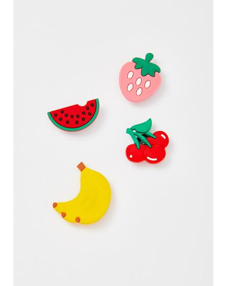 Eat Ur Rainbow Pin Set