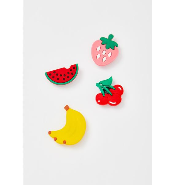 Eat Ur Rainbow Pin Set