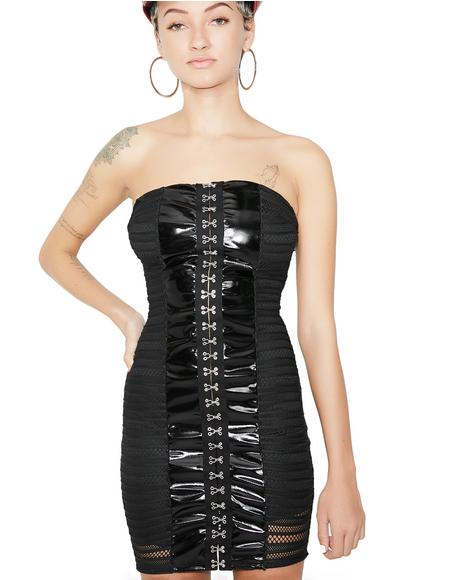 Scream N' Shout Mesh Hook Dress
